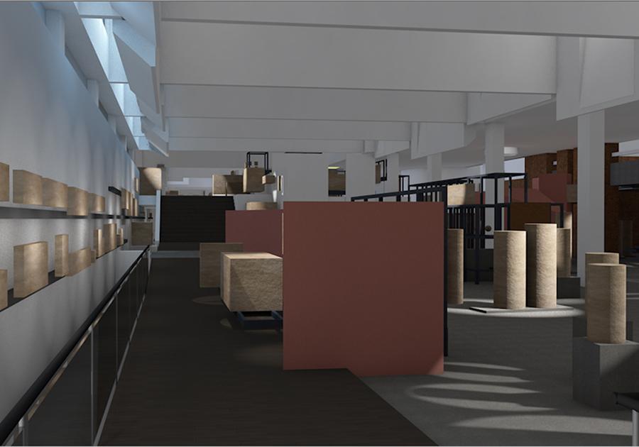 Progetto, la luce nello spazio del museo Pio Cristino e museo Gregoriano Profano, Musei Vaticani (SCV), 2013